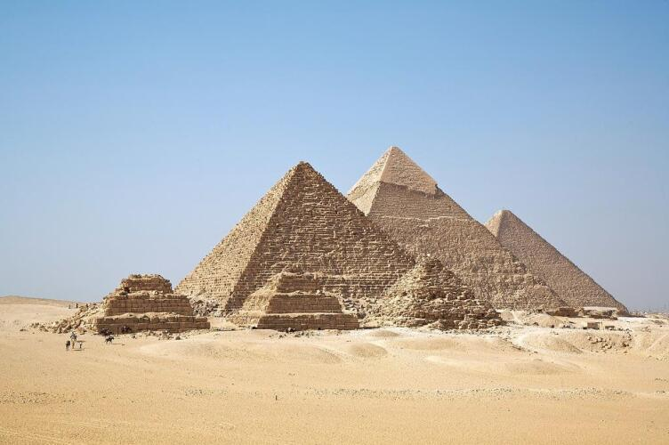 All Giza Pyramids in one shot - image
