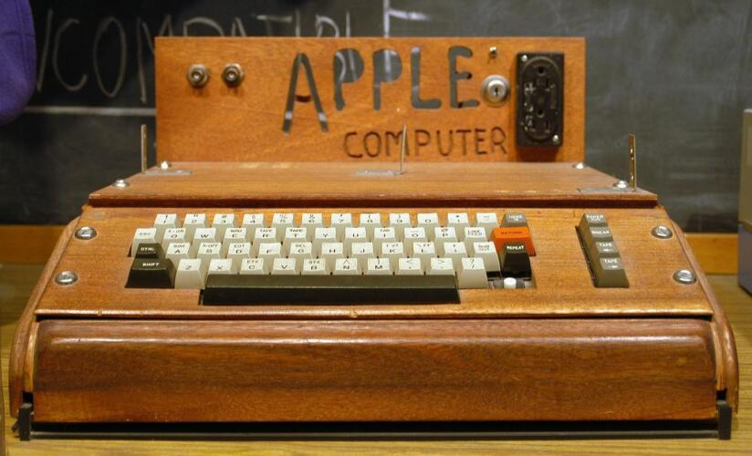 Apple I On display at the Smithsonian - image