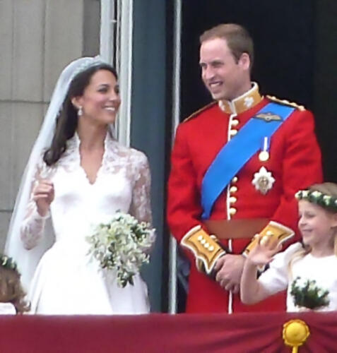 Catherine Middleton's wedding