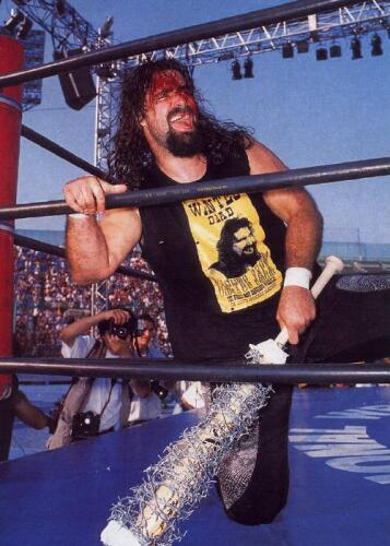 Foley as Cactus Jack