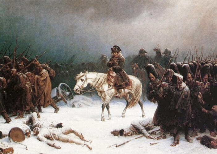 Napoleon's withdrawal from Russia
