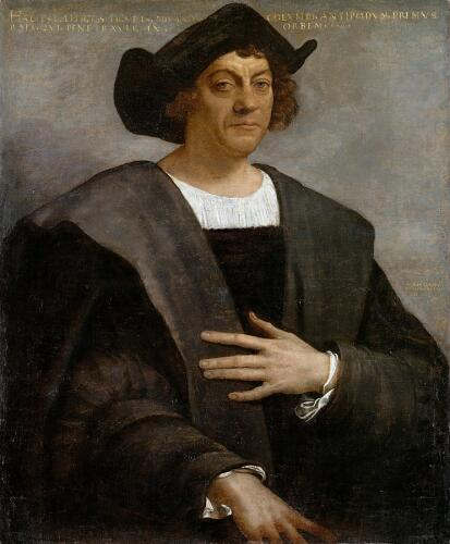 Portrait of a Man, Said to be Christopher Columbus