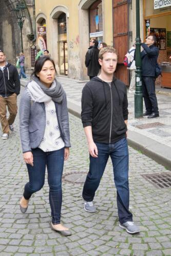 Priscilla Chan and Mark Zuckerberg Image