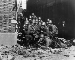Second Sino-Japanese War (Japanese Special Naval Landing Forces in Battle of Shanghai 1937) Image