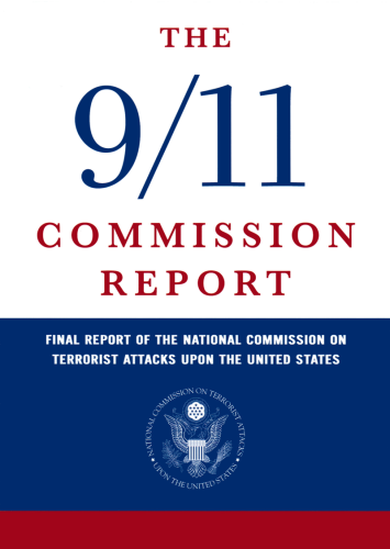 The cover of the final 9/11 Commission Report