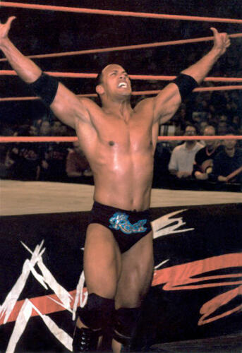 The Rock won the 2000 Royal Rumble match.