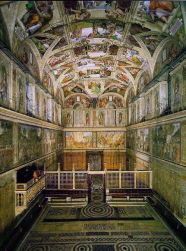 The Sistine Chapel, Vatican City