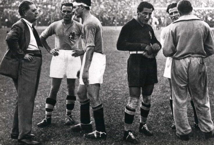 World Cup 1934 Final Image (Italy vs Czechoslovakia)